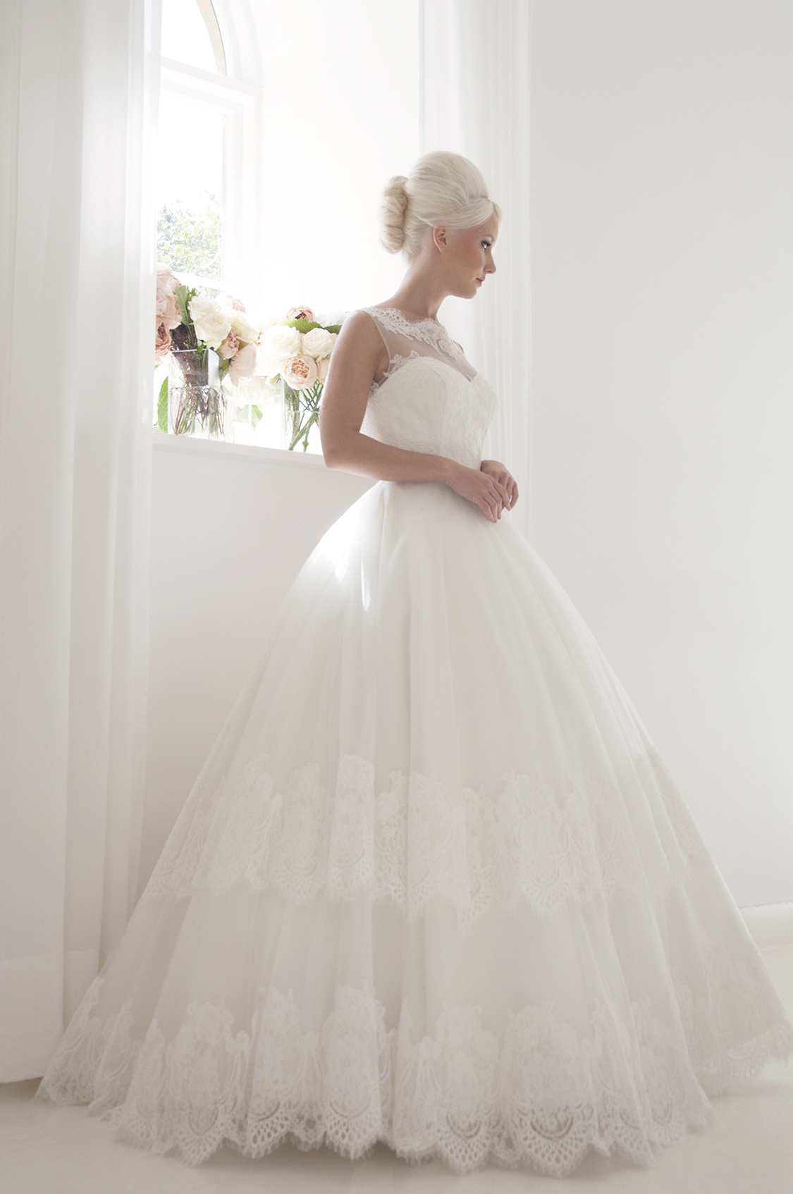 elegant ballgown dress