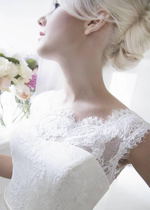 elegant lace detailing