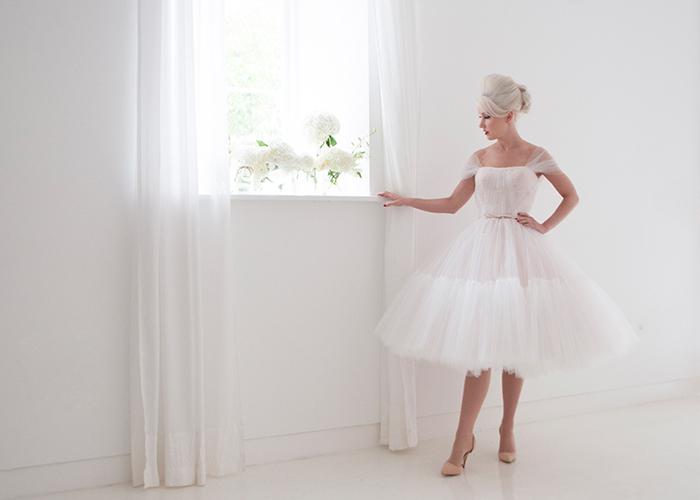 elegant layered skirt