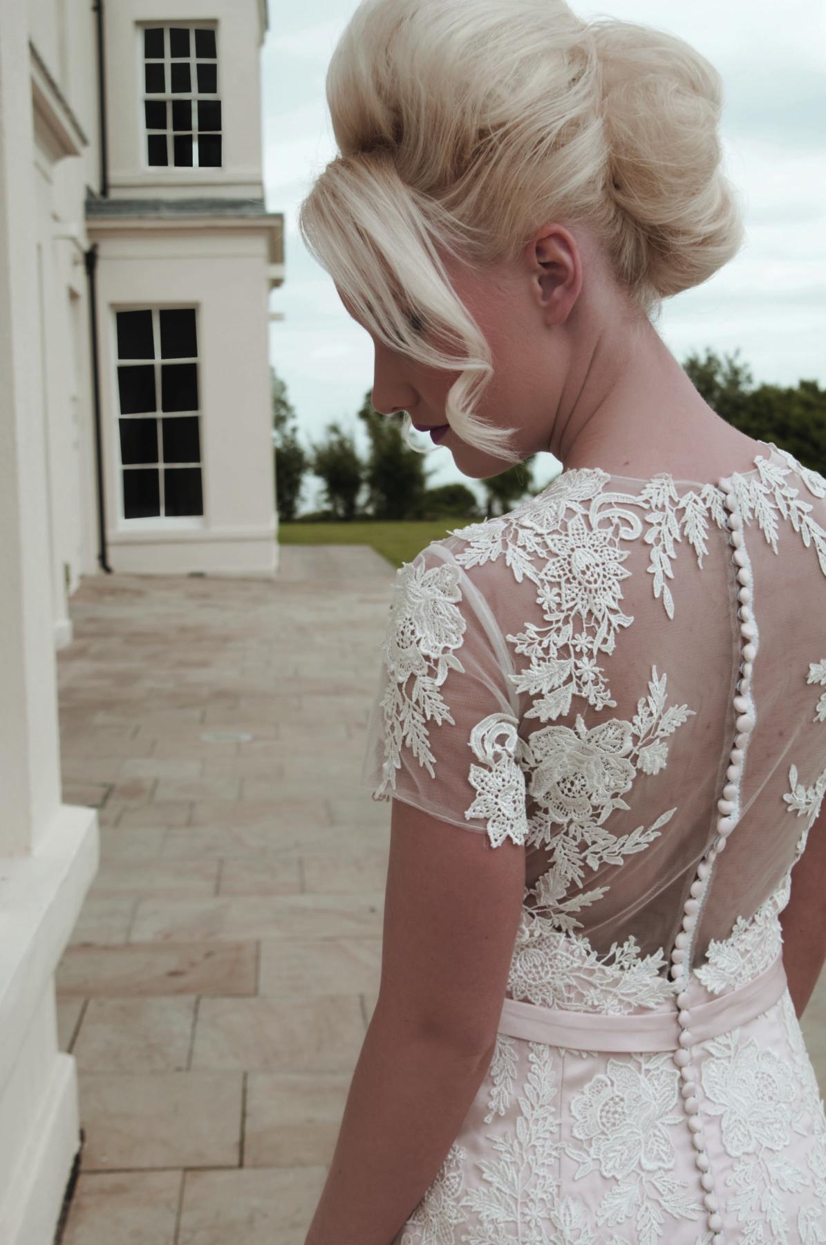 lace detailing back
