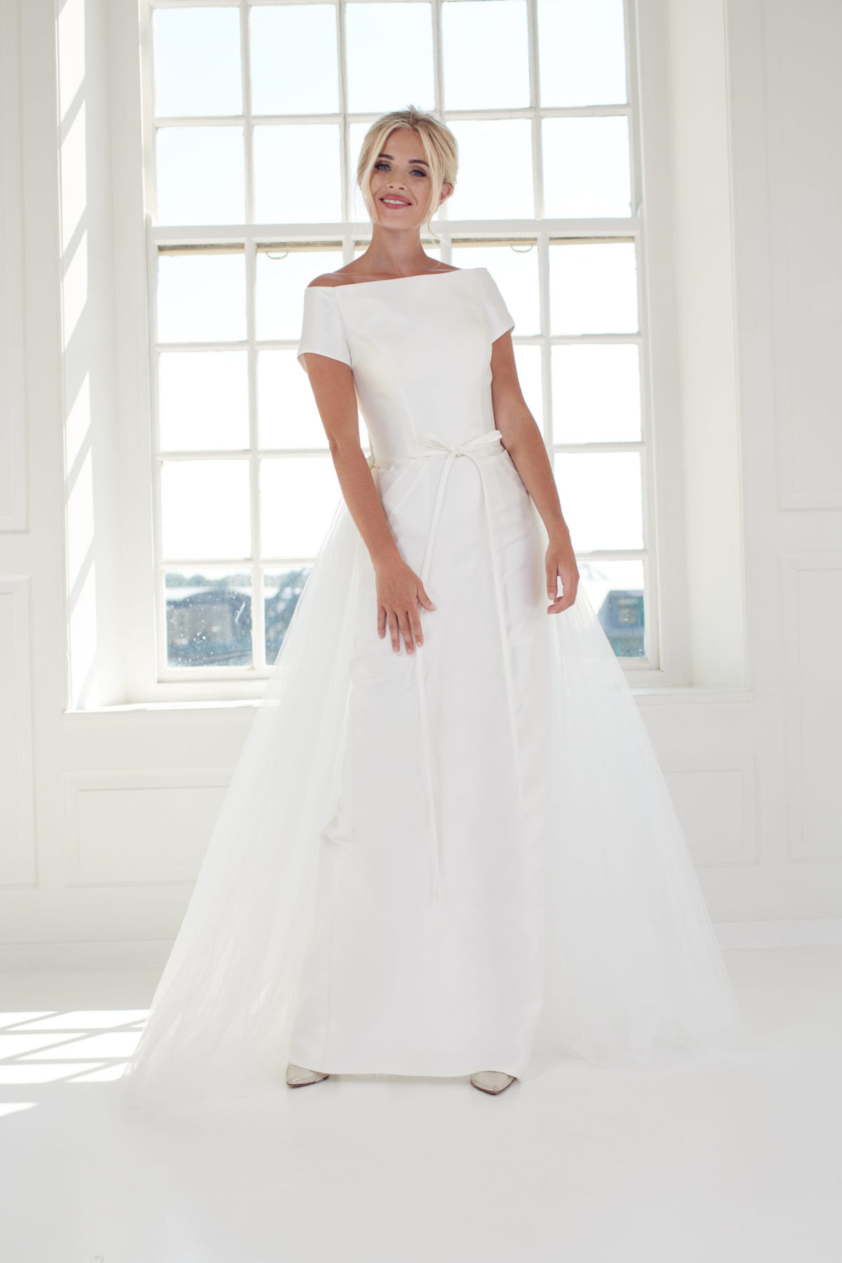 Pencil straight column wedding dress