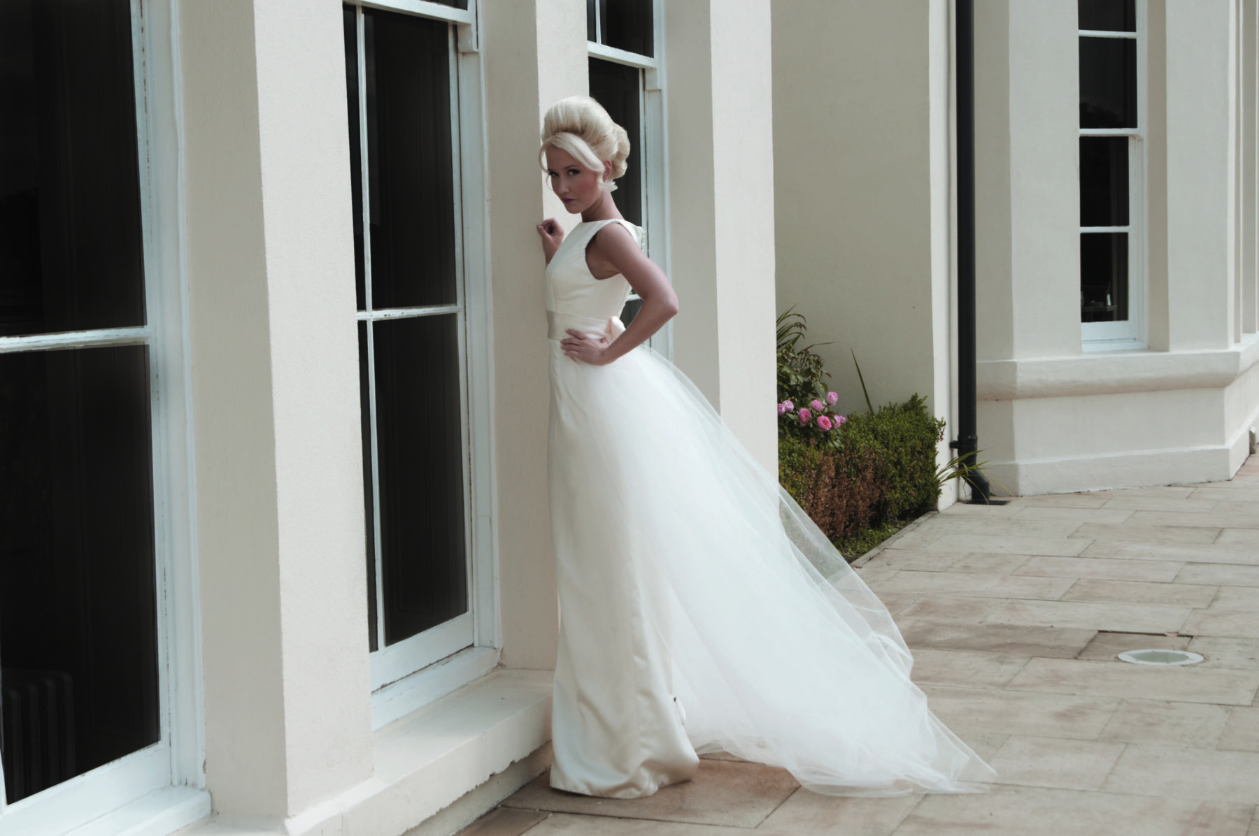 full length straight dress