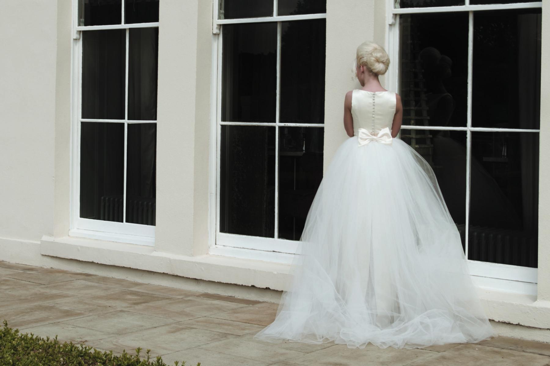 satin straight column gown